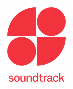 soundtrack your brand logo rojo