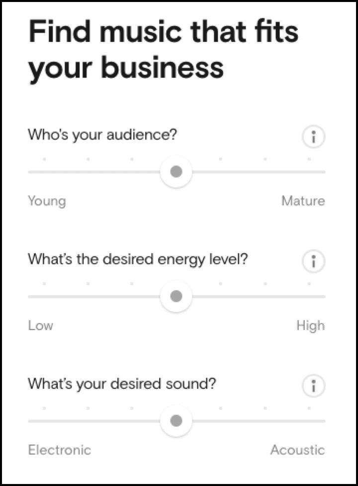 musica ideal para tu negocio