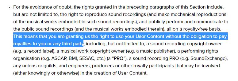 non copyrighted music for tik tok